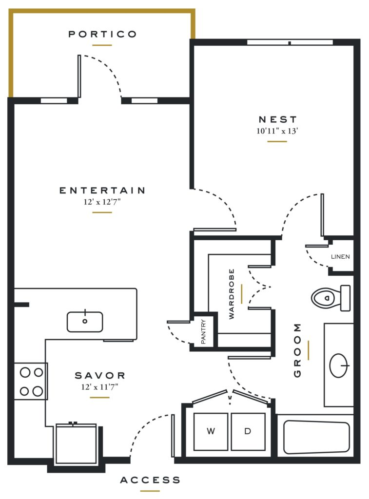 Magnificent One-Bedroom Bliss at Essence on Maple